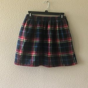 Abercrombie and Fitch Plad skirt